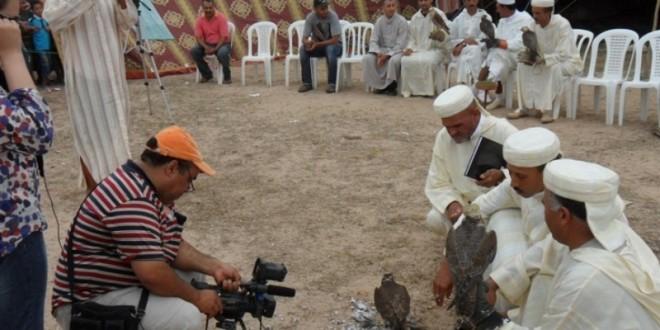 صورة من مهرجان صيد الصقور بالجديدة