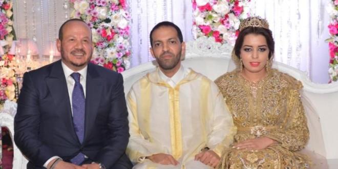 الهمة رفقة العروسين ليلى وعمر