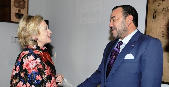 hillary clinton morocco