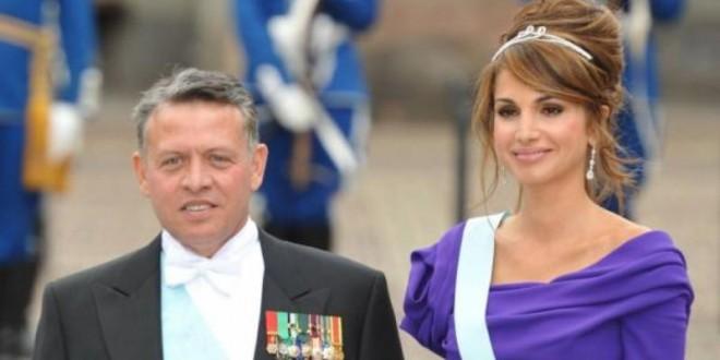 الملك عبد الله و الملكة رانيا
