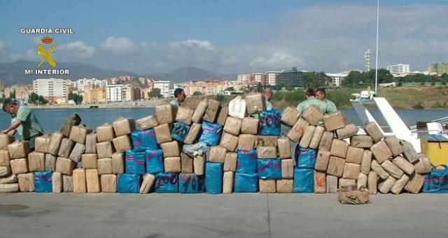 مخدرات مصادرة في اسبانيا