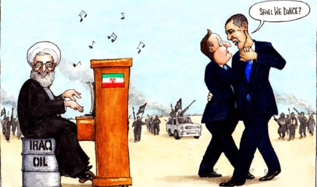 Obama-Cameron-Iraq-Iran-ISIS-cartoon