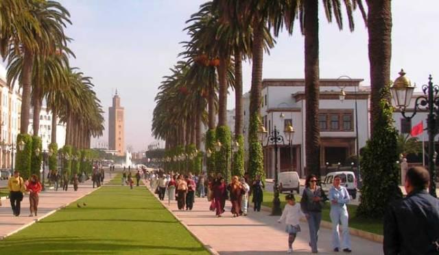شارع محمد الخامس بالرباط