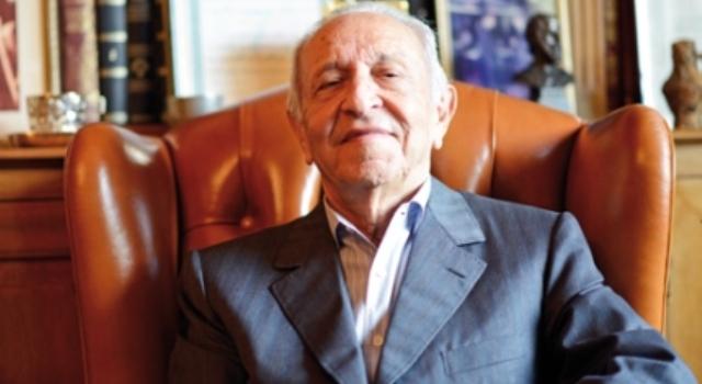 L'ancien premier ministre et ambassadeur Ahmed Osman. / Ph. DR