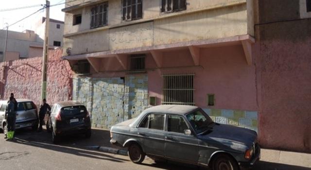 المقر الذي كان يمتلكه الحاج العزوازي الى حدود 1999والذي تحول الى اطلال والموجود بدرب صابون