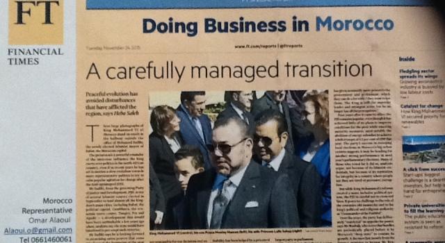 400الف نسخة طبعت من هذا العدد الخاص عن المغرب