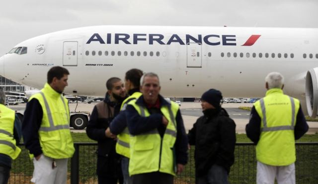 air france blocage
