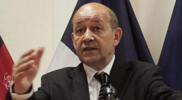 وزير-الدفاع-الفرنسي-جان-ايف-لودريان