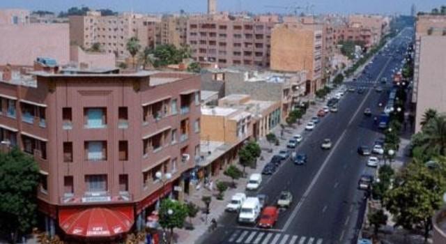 شارع محمد الخامس بمراكش
