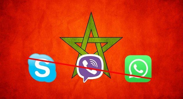 maroc whatsapp viber skype
