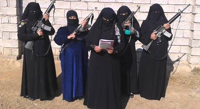 نساء-داعش