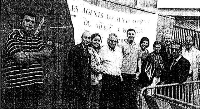 الصورة من إضراب قنصلية بوردو في فرنسا
