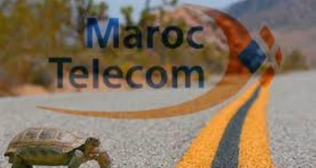 lenteur maroc telecom