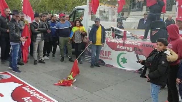 Photo of تحليل إخباري   من خطط لإحراق العلم المغربي في باريس بالتزامن مع تواجد الملك في فرنسا؟