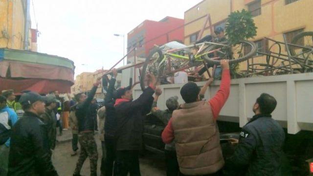 Photo of سيدي بنور | حملة لتحرير الملك العمومي بشوارع المدينة