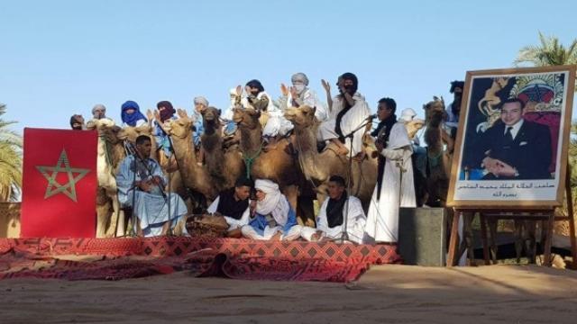 Photo of مؤرخون وفاعلون ثقافيون في مهرجان التراث الموسيقي والغنائي لوادي درعة