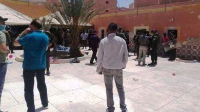 Photo of بالصور.. حصيلة دامية لمحاولة فرار مجموعة مهاجرين أفارقة من مركز إيواء بالعيون