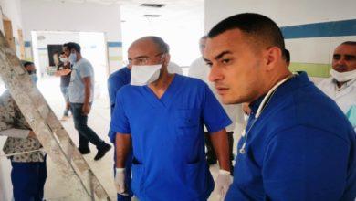 "Photo of تطوان | ظهور غريب لمدير ""مستشفى كورونا"" بدون كمامة"