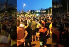 Photo of مسيرة حاشدة ضد الحجر الصحي في طنجة