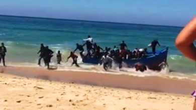 Photo of قرابة 40 مهاجر سري مغربي يصلون إلى شواطئ إسبانيا بالكمامات